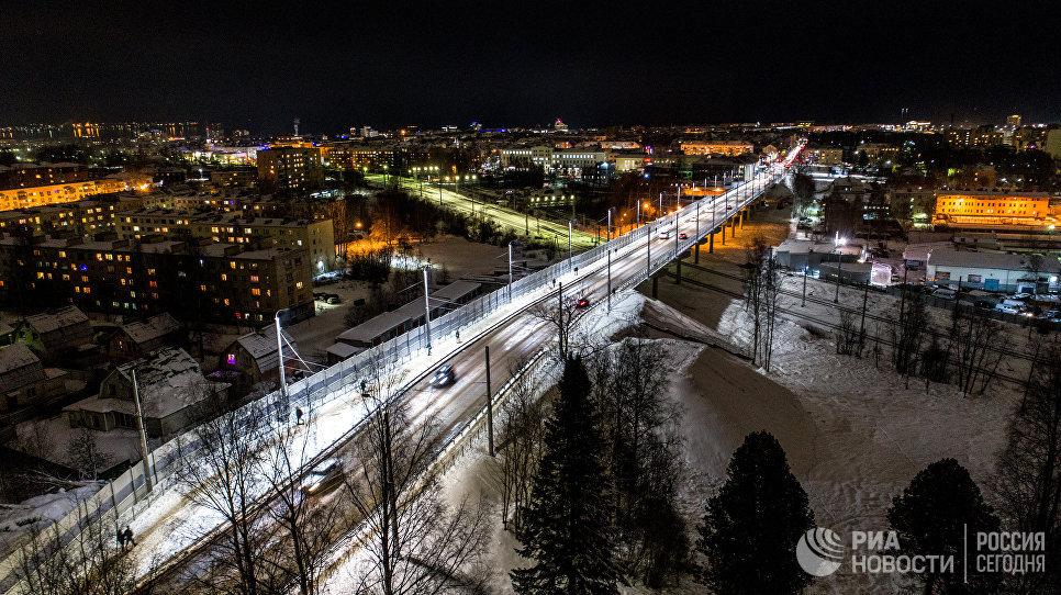 Гоголевский путепровод в Петрозаводске