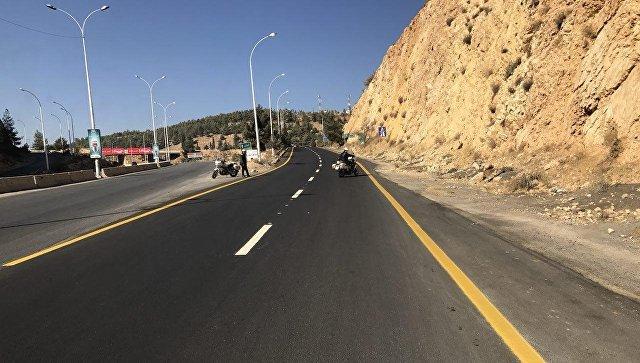 Дорога в Сирии. Архивное фото