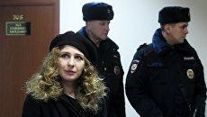 Участница группы Pussy Riot Мария Алехина в Мещанском суде Москвы. Архивное фото
