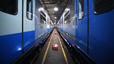 Поезда в электродепо