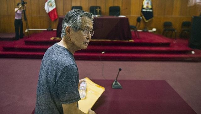 Президент Перу помиловал своего предшественника Фухимори