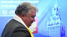 Сергей Бабурин на заседании Центральной избирательной комиссии РФ. Архивное фото