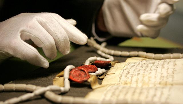 Работа с документами в Национальном архиве Великобритании