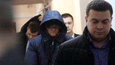 Рассмотрение ходатайства следствия об аресте бывшего главы следственного управления СК Москвы по ЦАО Алексея Крамаренко. 27 декабря 2017