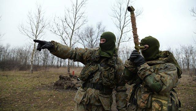 Спецназ блокировал прорыв диверсантов на учении в Курской области