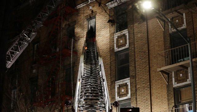 Сверепый пожар вНью-Йорке: минимум девять погибших, «будет больше»