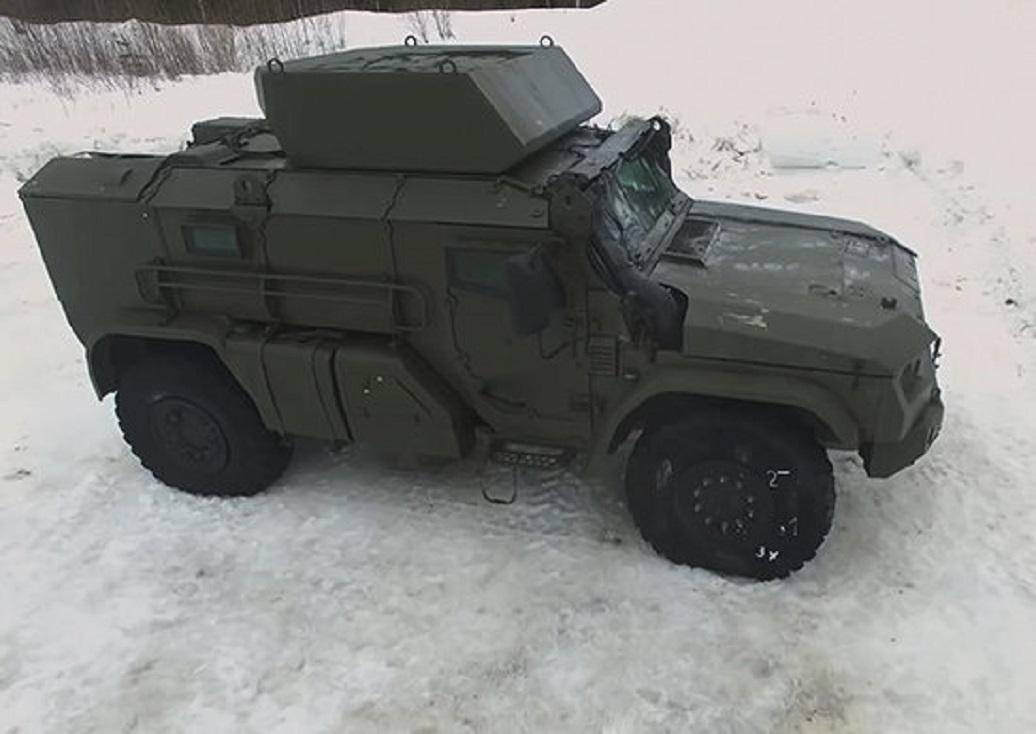 Новый бронеавтомобиль для ВДВ. Архивное фото