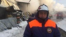Виктор Орлов - начальник ГУ МЧС России по Новосибирской области
