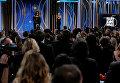 Опра Уинфри получила премию Сесиля Б. Де Милля за выдающиеся заслуги в кино- и телеиндустрии. Выступая с главной речью вечера, она призвала женщин говорить правду и заверила, что новый день уже на горизонте.