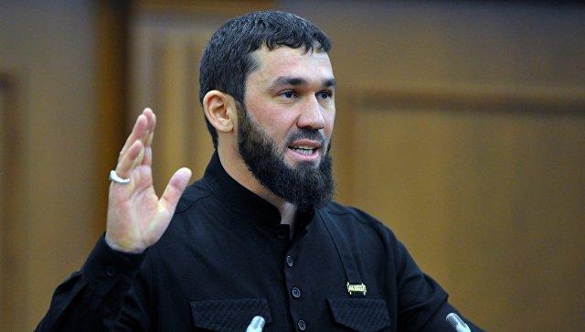 Председатель парламента Чеченской республики Магомед Даудов. Архивное фото