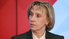 Людмила Огородова в должности заместителя министра образования и науки РФ. Архивное фото