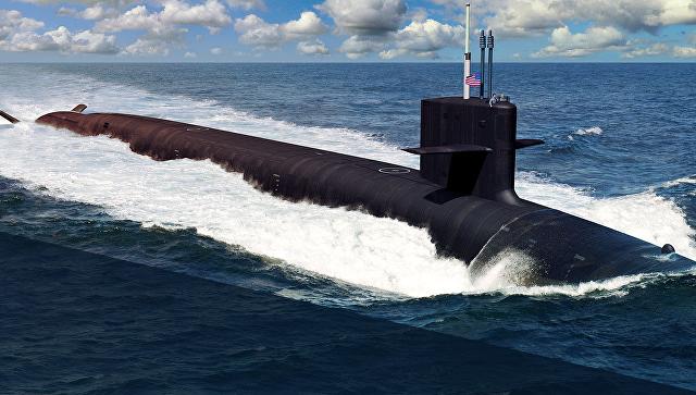 Рисунок подводной лодки. Архивное фото