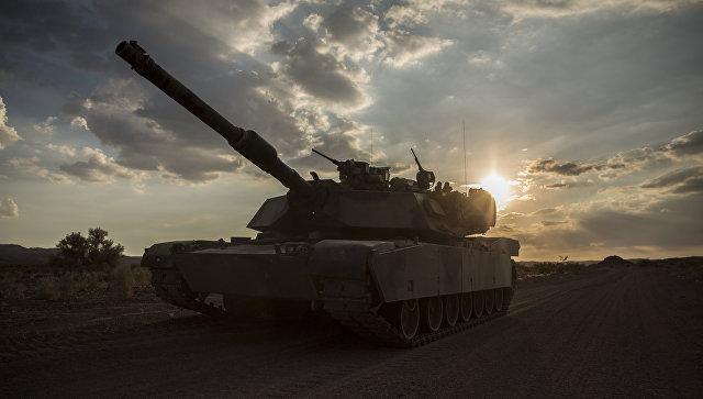 Американский танк M1A1 Abrams. Архивное фото