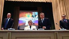 Генеральный прокурор РФ Юрий Чайка и председатель Государственной Думы РФ Вячеслав Володин