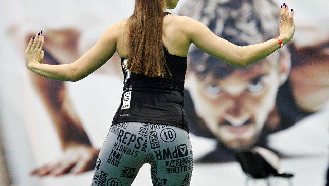 Участница фестиваля фитнеса. Архивное фото