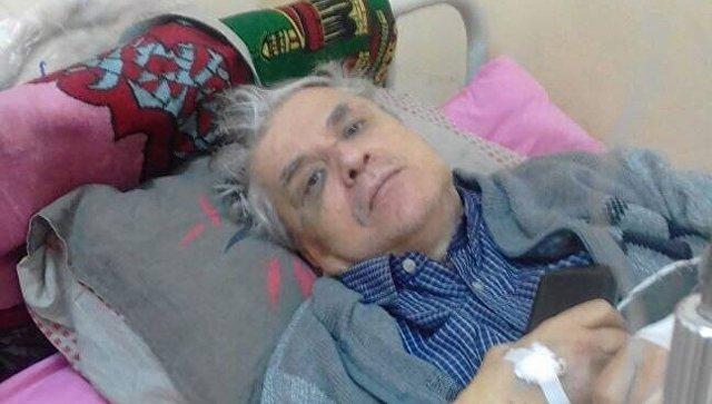 Украинский врач, освобожденный из плена в Ливии