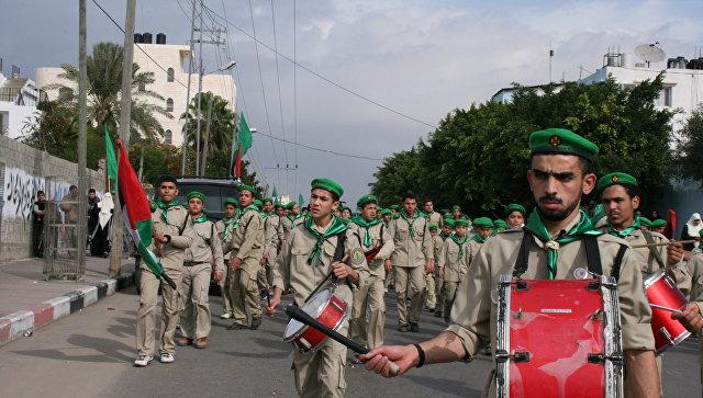 Движение ХАМАС, митинг в Газе. Архивное фото