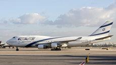 Boeing-747 израильских авиалиний. Архивное фото