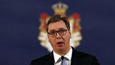 Президент Сербии Александр Вучич. Архивное фото
