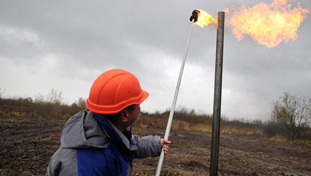 Газовое месторождение на Украине. Архивное фото