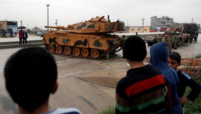 Турция привела армию у границы Сирии в состояние повышенной боеготовности
