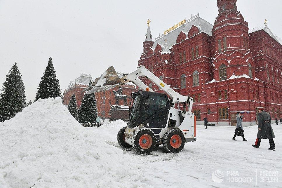 В столицеРФ наследующей неделе ожидаются снегопады— Синоптики
