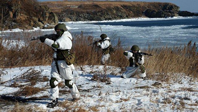 Военнослужащие ТОФ. Архивное фото