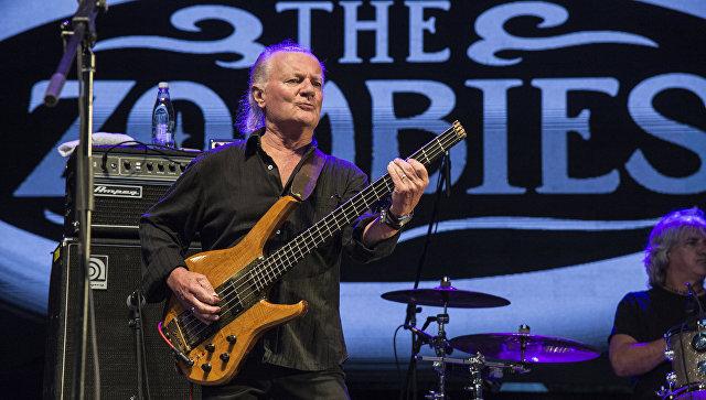 Басист The Kinks и The Zombies Джим Родфорд. Архивное