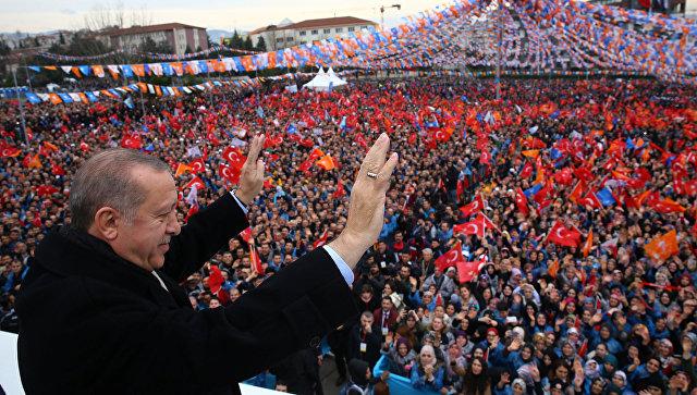 Эрдоган попросил Трампа не вовлекать Турцию в торговые войны