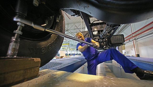 Сборка и выпуск грузовиков Hyundai на предприятии Автотор