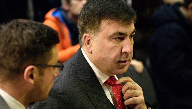 Суд в Киеве решил посадить Саакашвили под домашний арест в ночное время