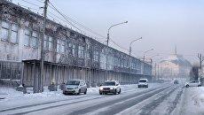Зима в Красноярске. Архивное фото
