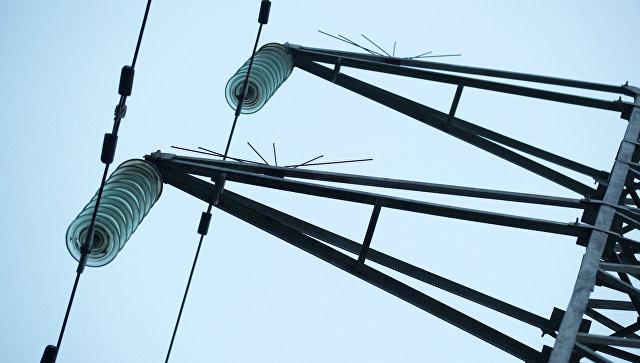 Линии электропередачи. Архивное фото