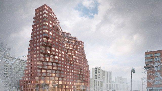 Апартаменты наСадовом кольце столицы построят попроекту голландского бюро