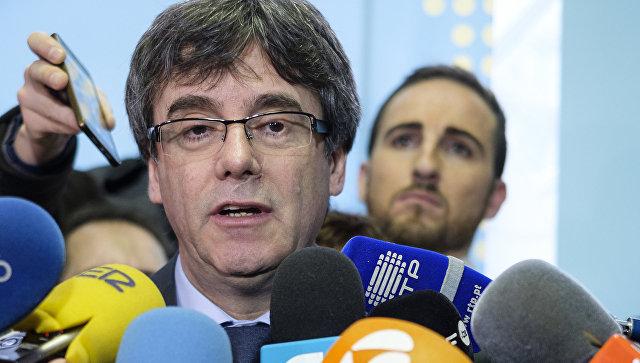 Пучдемон может быть экстрадирован в Испанию из-за обвинений в растрате средств