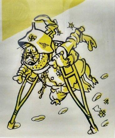Генерал на бегу. Флит А. Гансы и фрицы. Басни. Л.: Искусство, 1942