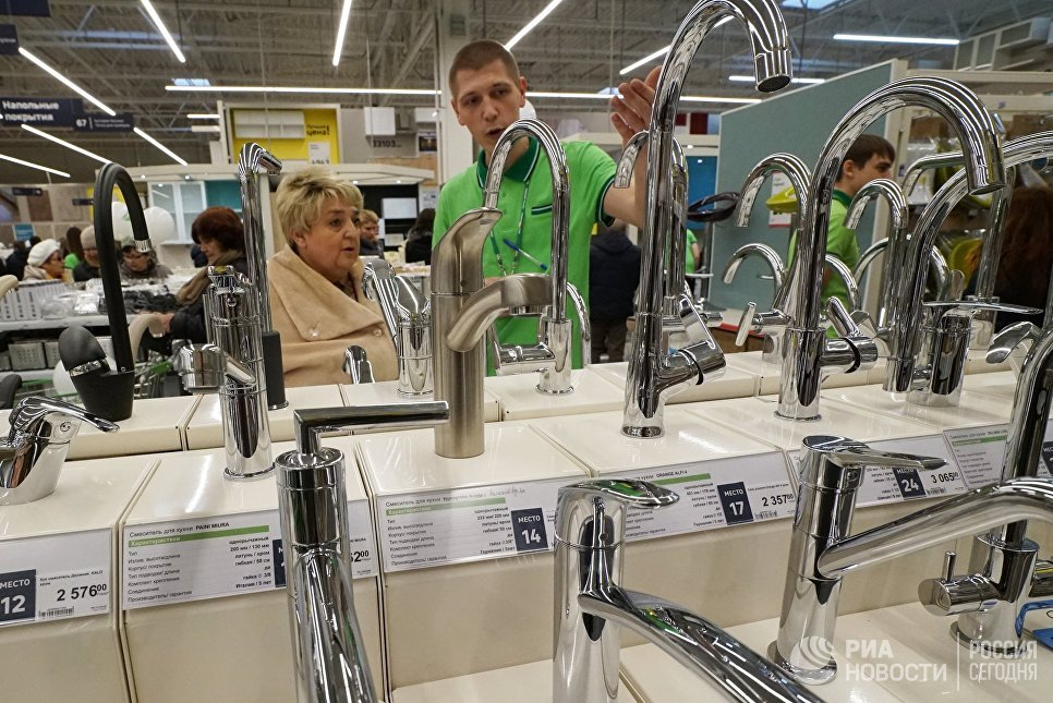 Открытие мегамаркета Леруа Мерлен в Калининграде
