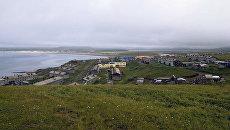 Посёлок Никольское. Командорские острова. Архивное фото