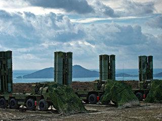 Полк С-400 на боевом дежурстве в Крыму. Архивное фото
