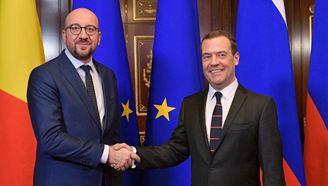Премьер Бельгии прибыл в столицу для переговоров сМедведевым