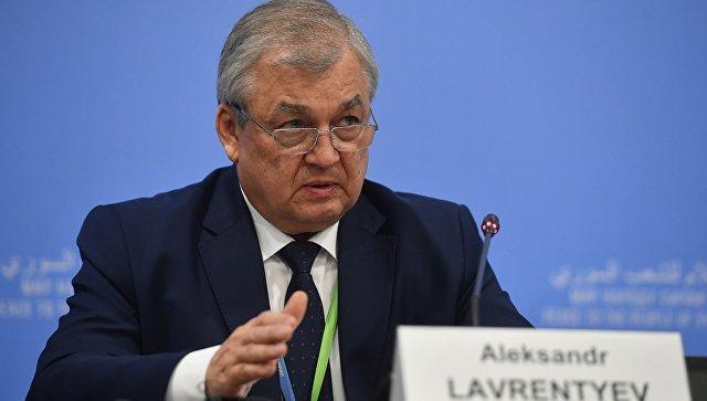 Специальный представитель президента РФ по сирийскому урегулированию Александр Лаврентьев. Архивное фото