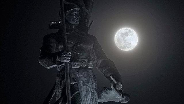"Субботняя ""голубая Луна"" станет последней за последующие три года"