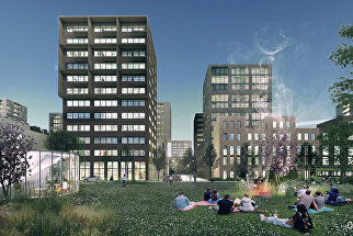 Концепция среднеэтажной застройки DO Architects