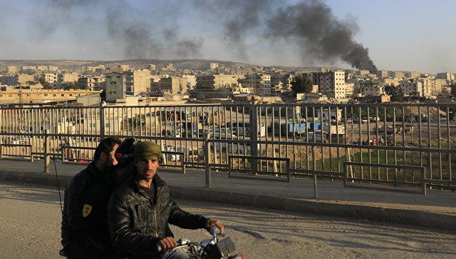 Вид на город Африн. Архивное фото
