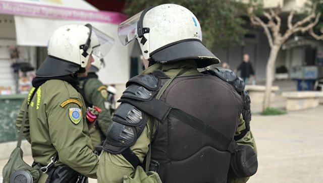 Спецназ в Греции. Архивное фото