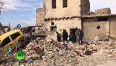 В Мосуле со дня освобождения от ИГ* до сих пор не убрали тела погибших