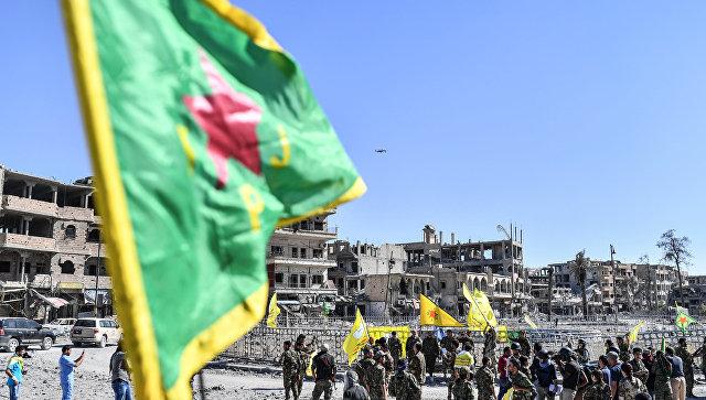 Бойцы отряда народной самообороны курдов (YPG). Архивное фото