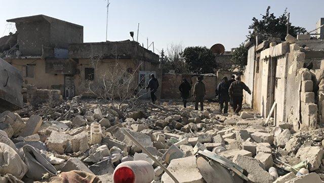 СМИ сообщили о пяти пострадавших при артобстреле Турции по Африну