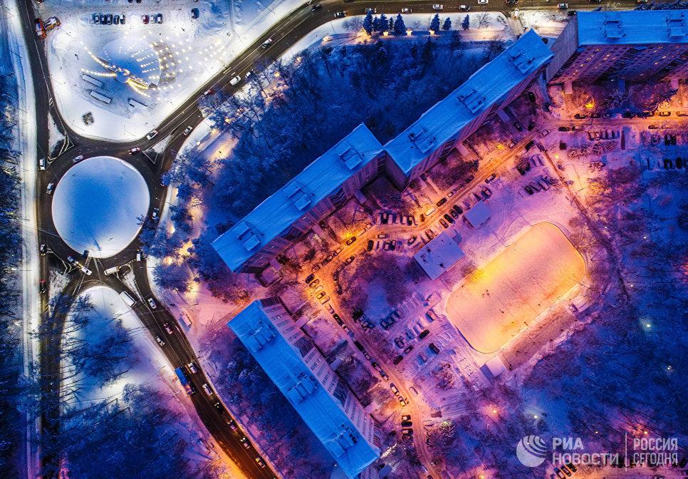 Улица Солнечная в городском округе Троицк