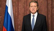Чрезвычайный и Полномочный Посол Российской Федерации в Республике Индия Николай Кудашев. Архивное фото